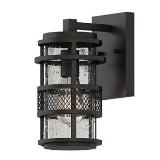 Black Exterior Light