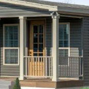 Clay Vinyl Porch Columns & Railings