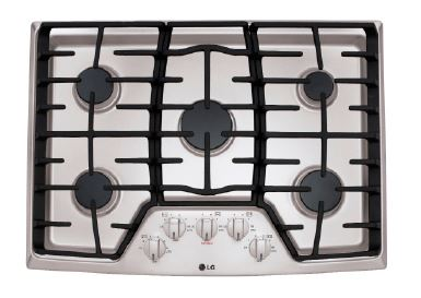 36 Inch Wide Gas Cooktop with SuperBoil™