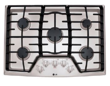 30 Inch Wide Gas Cooktop with SuperBoil™