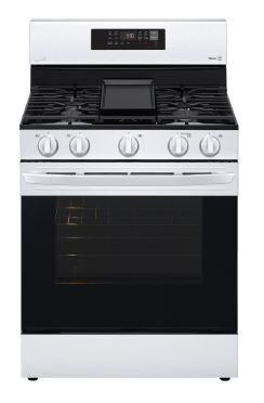 5.8 cu. ft. Gas Convection Smart Range with Air Fry