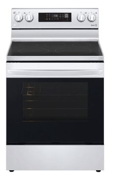 6.3 cu. ft. Electric Convection Smart Range with Air Fry
