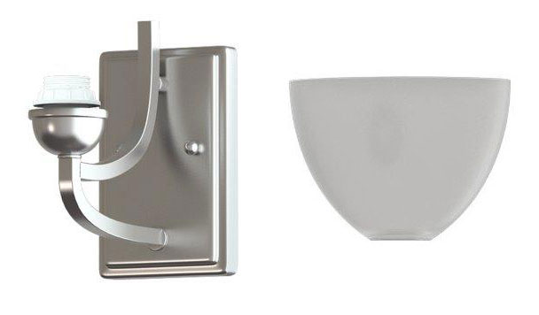 Nickel Wall Sconce