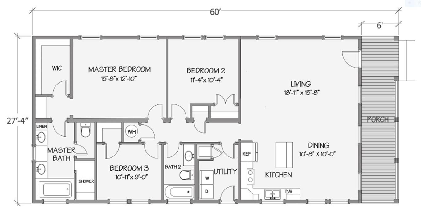 8018-64-3-30 Rendered Floorplan