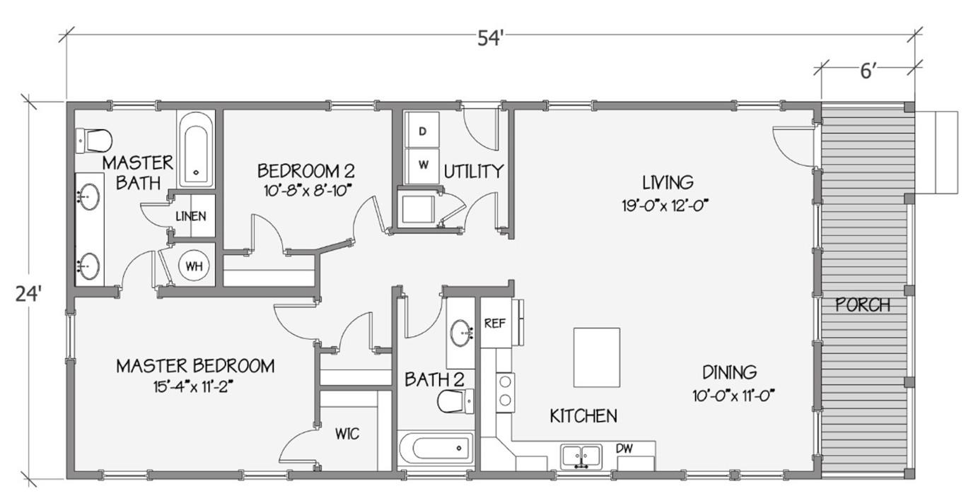 8030-58-2-26 Rendered Floorplan