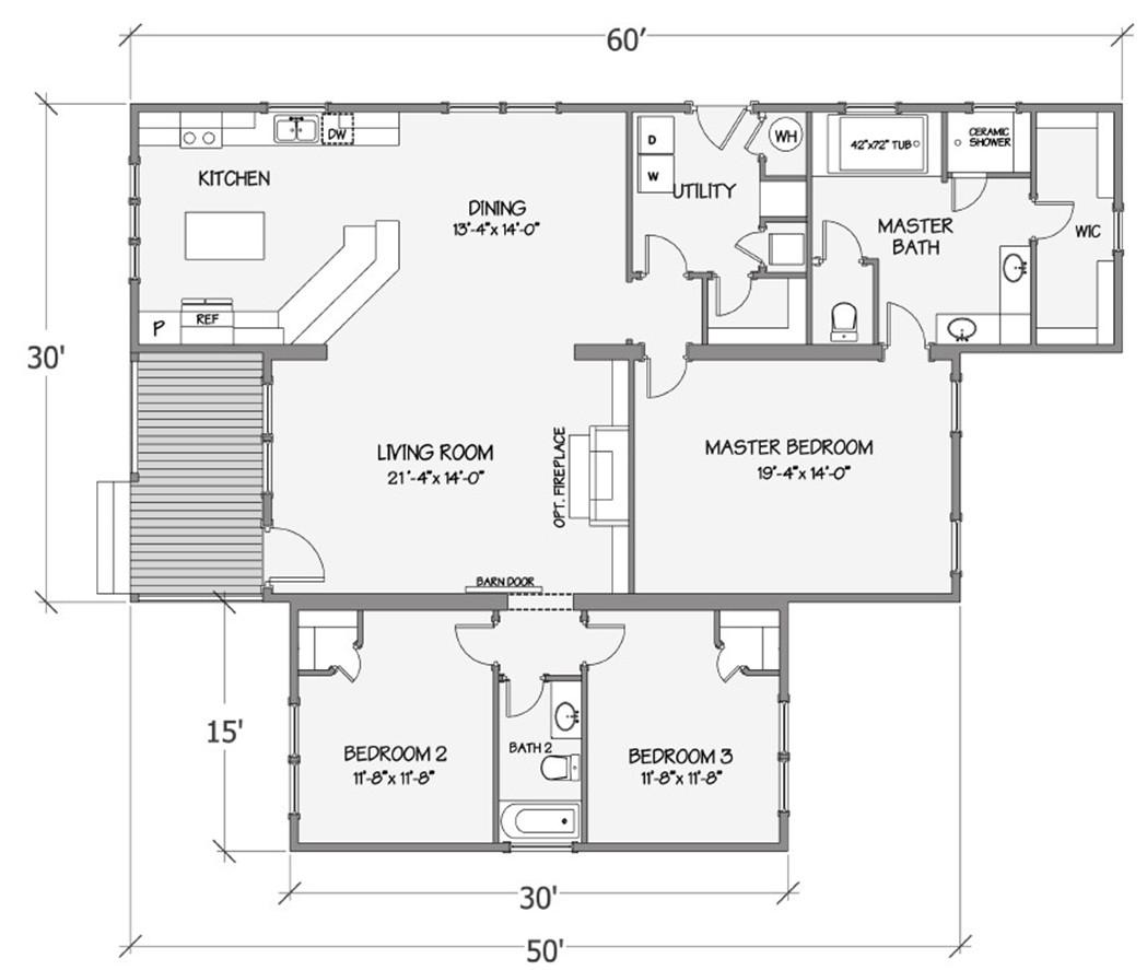 Azalea I Rendered Floorplan
