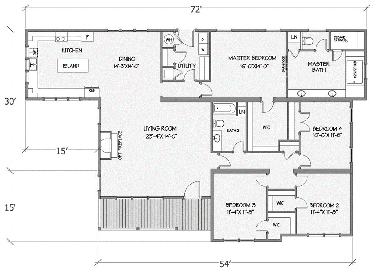Jasmine I Rendered Floorplan
