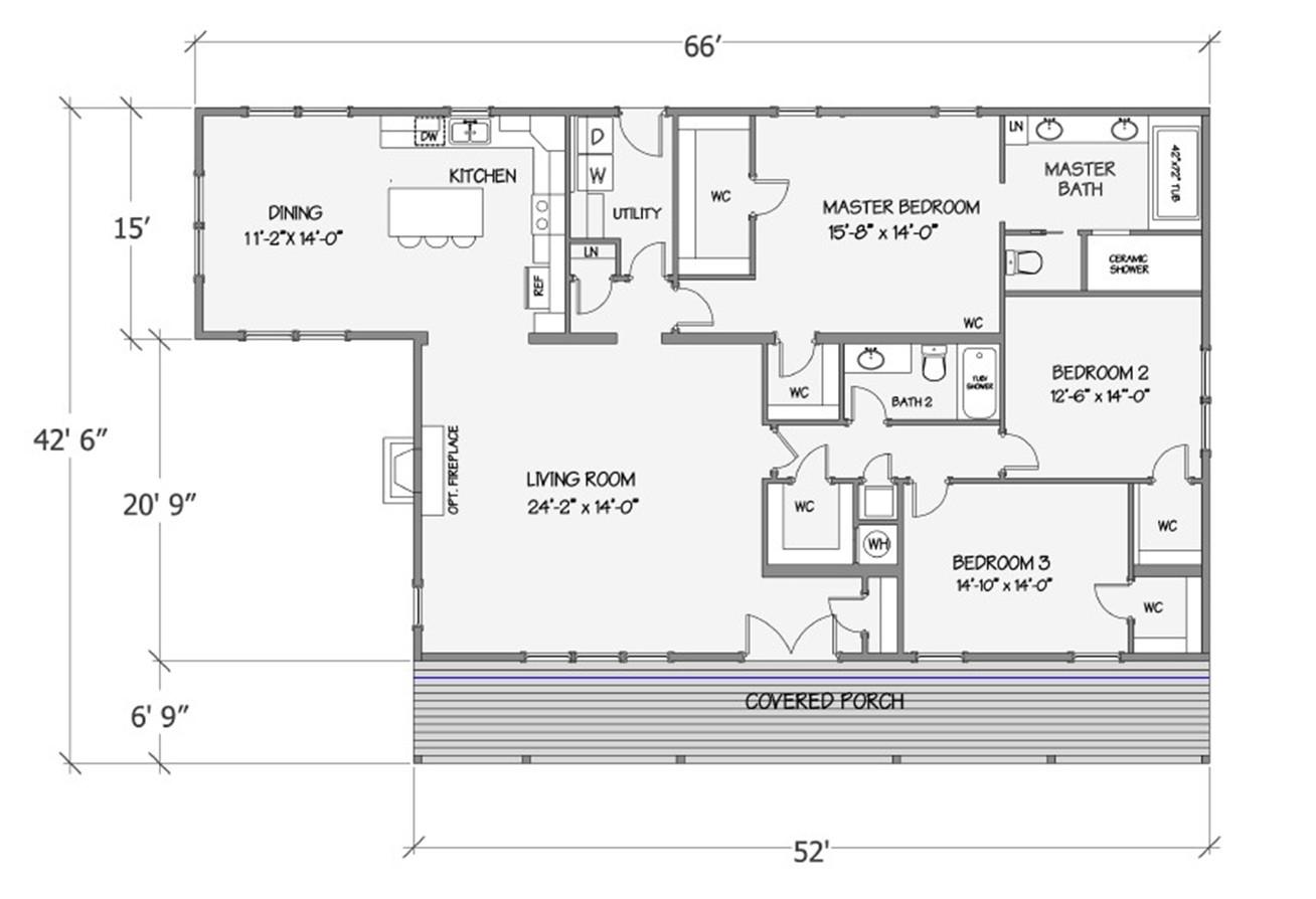 Lilly I-B Rendered Floorplan