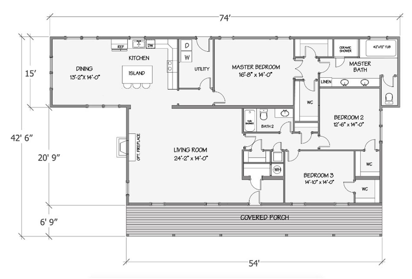 Lilly IV Rendered Floorplan